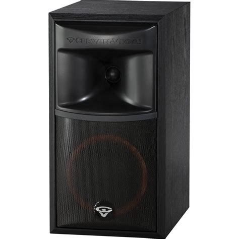 cerwin xls 6 6 5 quot 2 way bookshelf speaker xls 6 b h