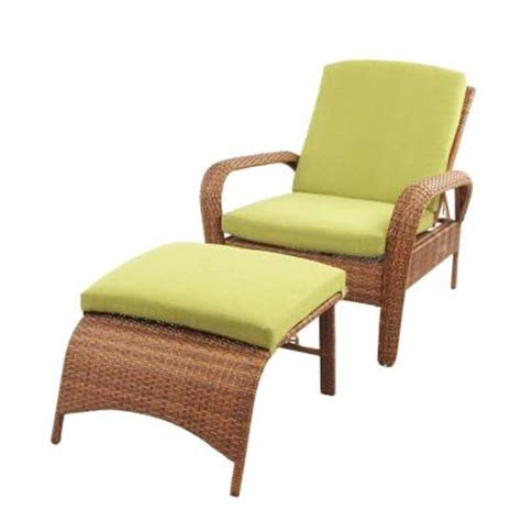 martha stewart chaise lounge martha stewart living charlottetown brown all weather