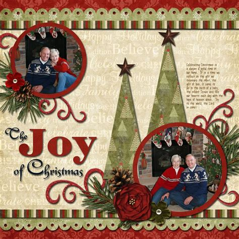 171 best images about scrapbook pages christmas on pinterest