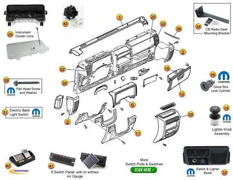 1999 jeep parts diagrams interactive diagram jeep wrangler tj instrument panel