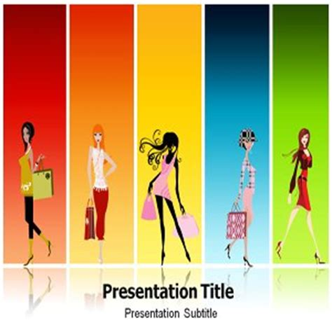 fashion powerpoint template fashion powerpoint templates
