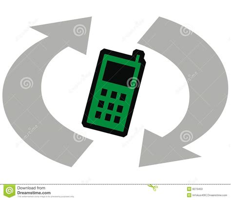 recycle cell phones recycle cell phones stock photos image 8273453