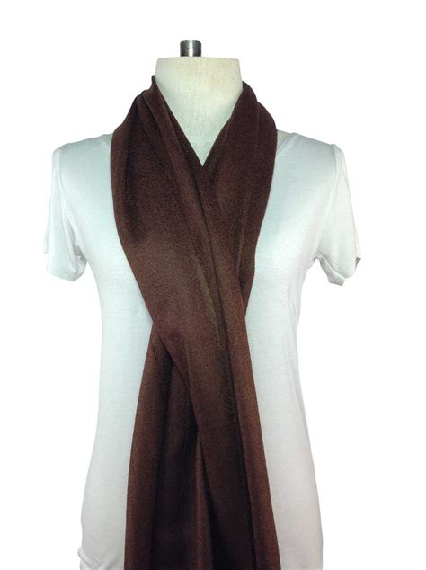 a special deal on a beautiful brown pashmina scarf buy