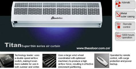Air Curtain 90cm Gree Fm 1 12 9 K thin titan 1 series air curtain product catalog