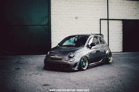 stanced car meet image gallery stanced fiat
