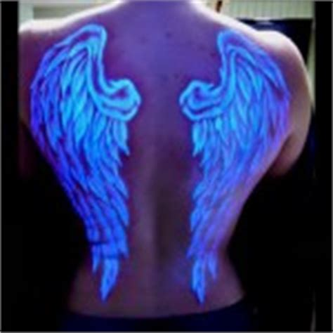 glow in the dark spine tattoo glow in the dark tattoos