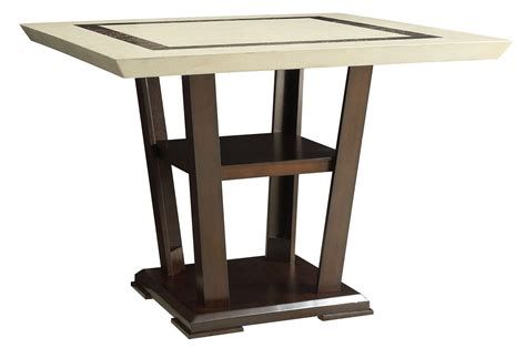 Rectangular Counter Height Dining Table Lacombe Cappuccino Rectangular Counter Height Dining Table From Coaster 105848 Coleman Furniture