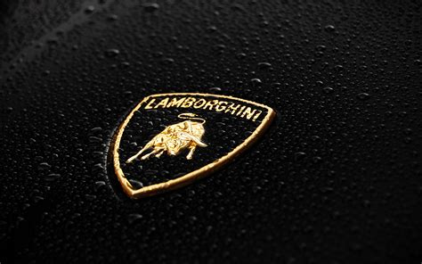 Logo Of Lamborghini Cars Lamborghini Logo Wallpaper Hd Car Wallpapers