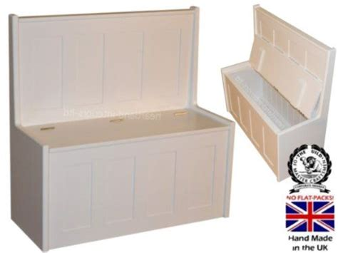 white solid wood storage bench 100 solid wood storage bench 3ft white painted shaker