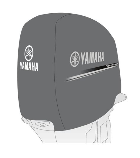 deluxe yamaha outboard f350 motor cover four stroke ebay