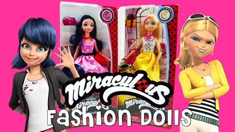 fashion doll news new miraculous ladybug fashion dolls marinette and