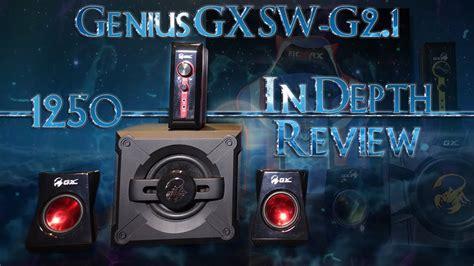 Genius Sw G2 1 1250 Gaming genius gx sw g2 1 1250 gaming speaker system in depth