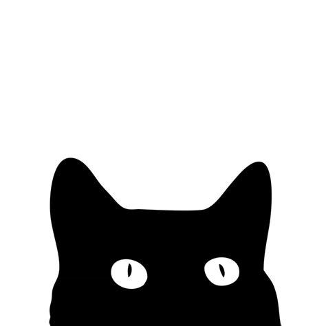 Cat Print quot black cat quot prints by sense redbubble