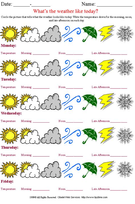 printable weather charts and graphs pin weather chart for kids free printable i15jpg on pinterest