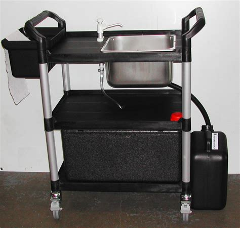 mobile wash sink unit portable washing up unit 23 lts sinks mobile vpw up