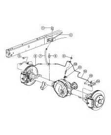 Brake Line Diagram 2001 Dodge Ram Dodge Ram 1500 Lines And Hoses Brake Rear With Rear Disc