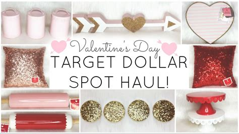 target dollar spot target dollar spot haul valentine s day 2017 youtube