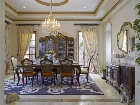 Dinning Room Curtains Decorating Traditional Dining Room Dining Room Decorating Ideas Lonny