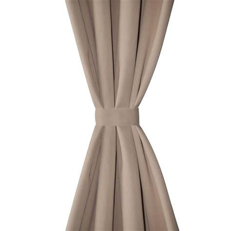 tende in metallo articoli per tende oscuranti blackout crema con anelli di