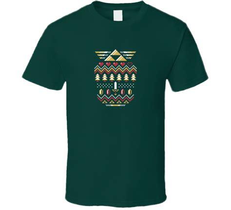 pattern green holiday shirt ugly christmas sweater pattern tree green tea shirt
