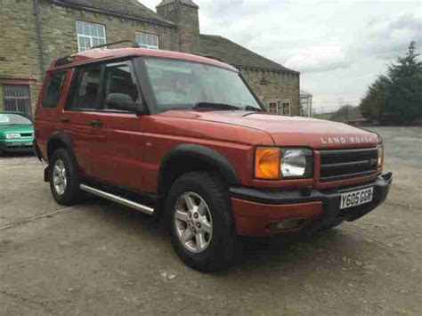 orange land rover discovery 2003 land rover discovery 2 5 td5 es 7 seat 5dr auto 5