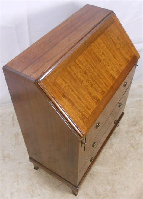 bureau sold a georgian style mahogany writing bureau sold