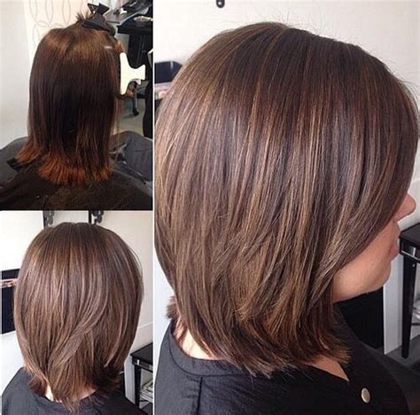 medium bob hairstyles front back front and back photos of medium length bob hairstyles