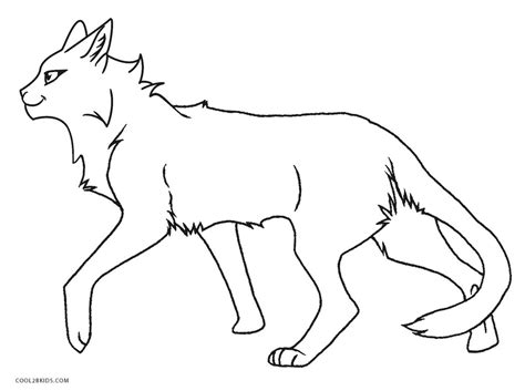 coloring pages of warrior cats free printable cat coloring pages for kids cool2bkids