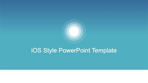 Ios Powerpoint Template Ios Style Powerpoint Background Template Slidemodel