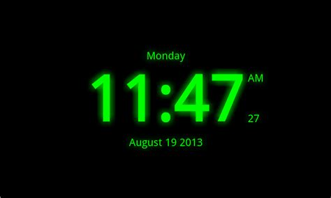 Digital Wall Clocks by Digital Clock Live Wallpaper 7 Android Apps On Google Play