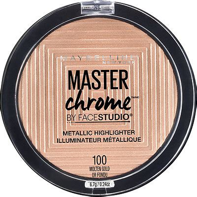 Maybelline Master Chrome facestudio master chrome metallic highlighter ulta