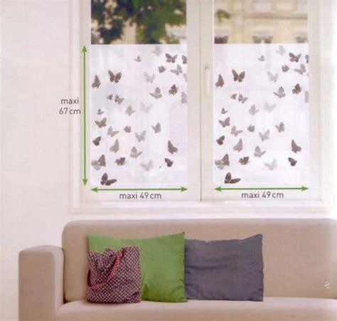 Fenster Sichtschutz Statisch by Fensterfolie Schmetterlinge Fenstersticker Sichtschutz