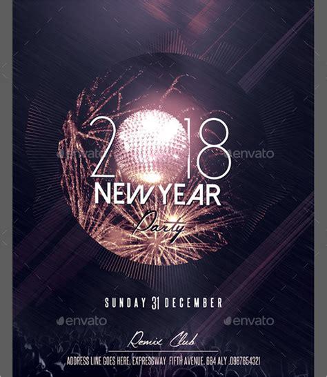 new year 2016 poster template 31 new year poster templates free design ideas