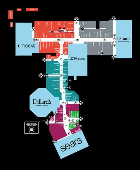 Layout Of Battlefield Mall Springfield Mo | complete list of stores located at battlefield mall a