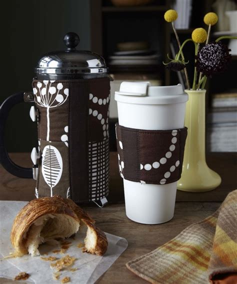 pattern for french press cozy coffee sleeve and french press cozy sewing patterns