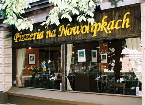 pizzeria na nowolipkach zam 243 w pizz苹 muran 243 w