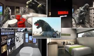 godzilla themed hotel japan godzilla themed hotel gracery to open in tokyo japan