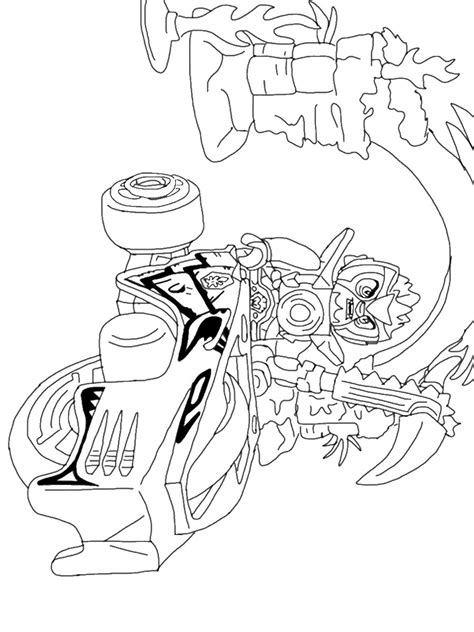 free coloring pages of lego legends of chima
