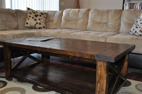 rustic style coffee table farm house coffee table farmhouse style rustic x coffee