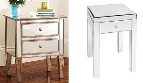 Cheap Mirrored Nightstand target mirrored nightstand