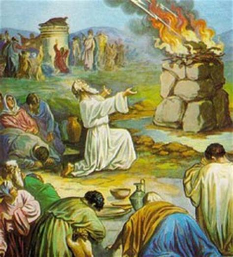imagenes biblicas del profeta elias sigo al maestro el 205 as y los profetas de baal