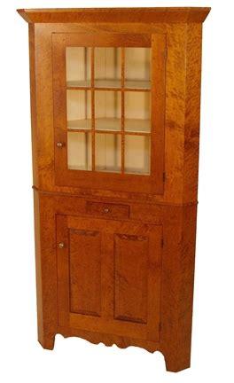 ohio corner cupboard benners woodworking