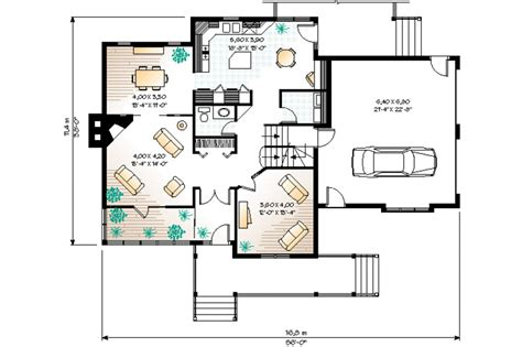 eplans new american house plan country aura 3728 typical american house floor plan