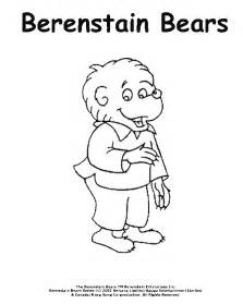 berenstain bears coloring pages berenstain bears coloring pages