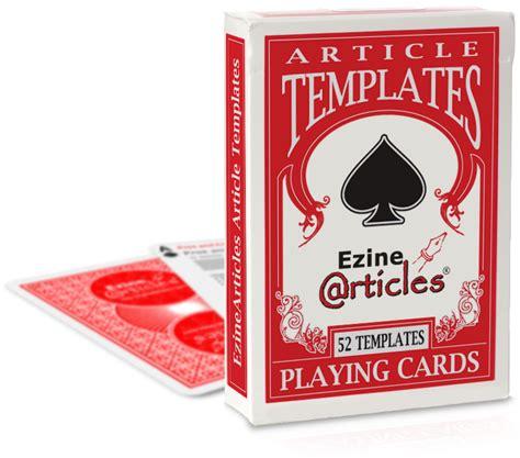 Ez Shop Gift Card - deck of cards ezinearticles shop