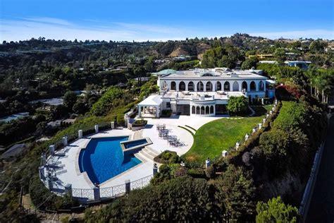 celebrity homes beverly hills mansion  tv legend danny