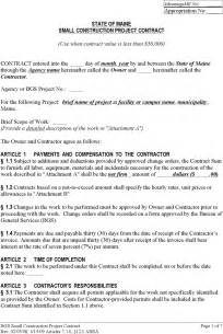 construction contracts templates the simple construction contract can help you make a