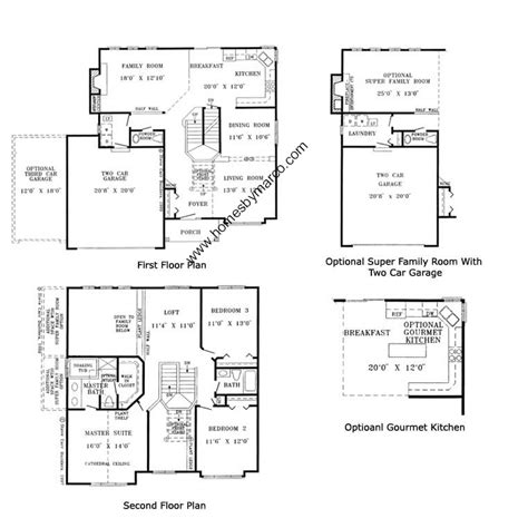 homes by marco floor plans lumina model in the country lakes subdivision in