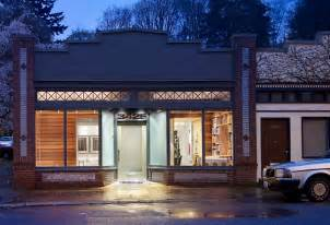 storefront remodeled into live work place with modern interior design digsdigs