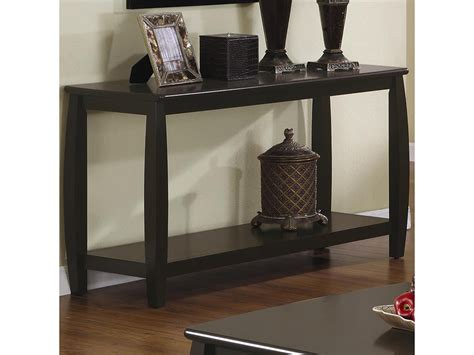 sofa table with bottom shelf rectangular sofa table with bottom shelf shop for